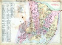 Index Map, Bridgeport 1917